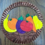 fruits bowl craft
