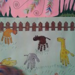 handprint animal craft