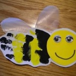 handprint bee crafts