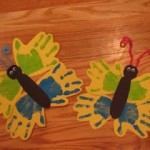 handprint butterflycraft