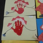 handprint fireman craft