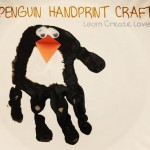 handprint pnguin craft