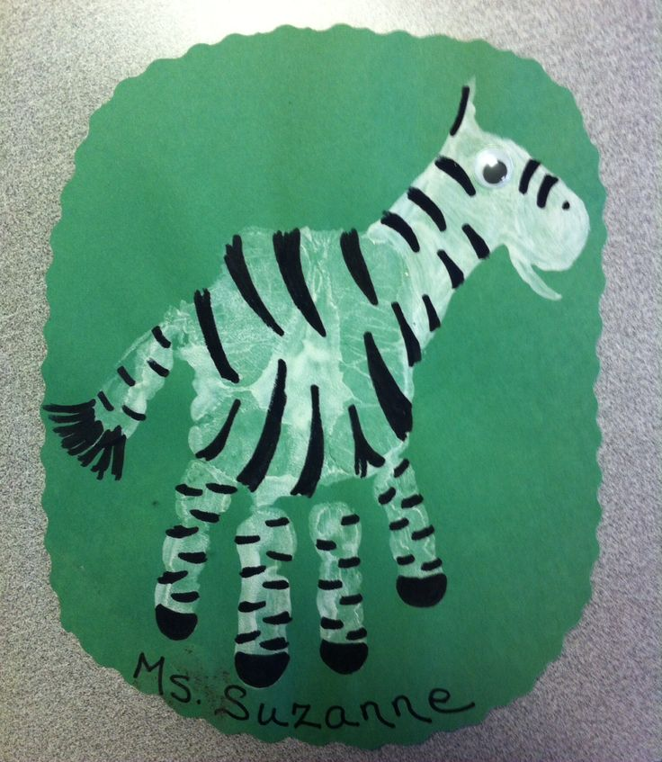 Handprint Animal Crafts Crafts And Worksheets For