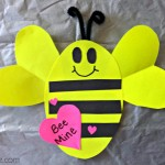 heart bee craft