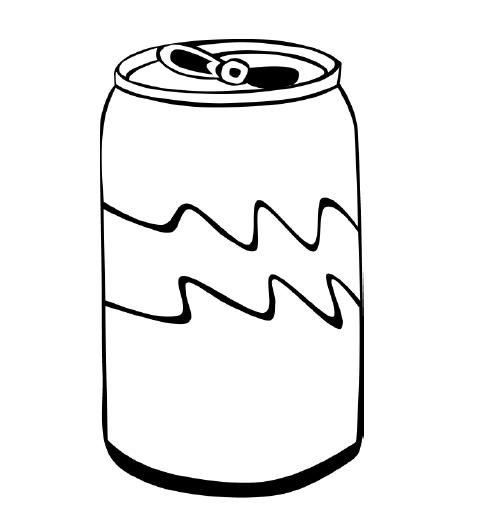 soda coloring pages - photo#3