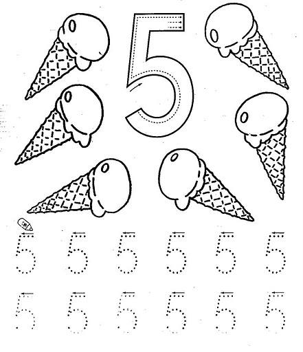 Number 5 Crafts For Preschoolers Crafts Actvities And Work
