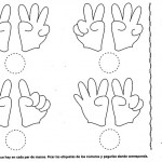 number five 5 coloring and tracing worksheets  (26)