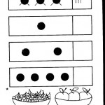 number four 4 coloring and tracing worksheets  (22)