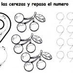number nine 9 coloring and tracing worksheets  (22)