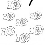 number seven 7 coloring and tracing worksheets (13)