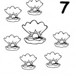 number seven 7 coloring and tracing worksheets (5)