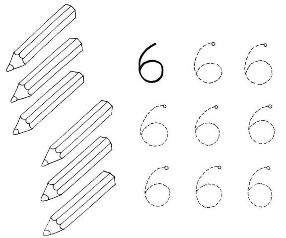 Number Names Worksheets » Tracing And Coloring Worksheets - Free ...