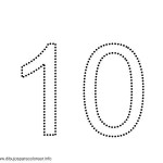 number ten 10 coloring and tracing worksheets  (13)