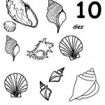 number ten 10 coloring and tracing worksheets  (5)