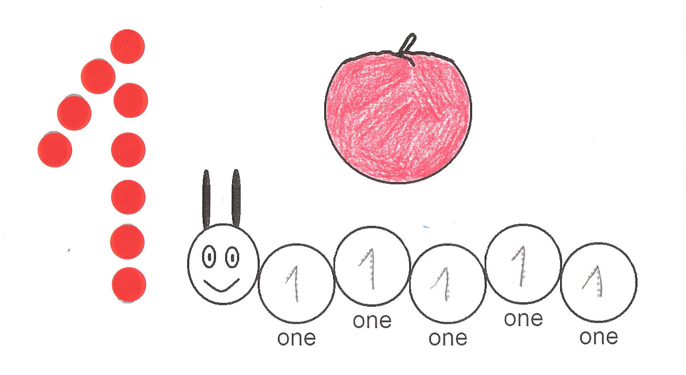 Number 1 ( one ) tracing and coloring worksheets | Crafts and ...