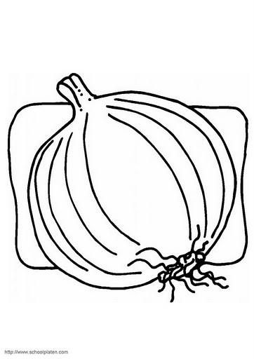 Vegetables coloring pages part