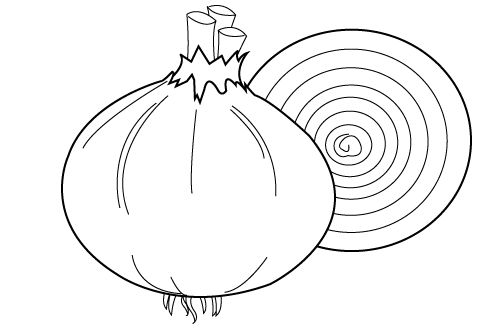 Fruits And Vegetables Coloring Pages Crafts And Worksheets For Lettuce Coloring Page