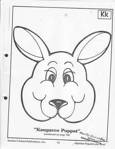 Kangaroo Worksheets For Preschoolers Kangaroo Best Free
