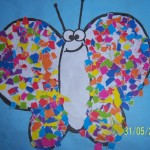 paper butetrfly craft