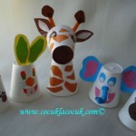 paper caup animals craft