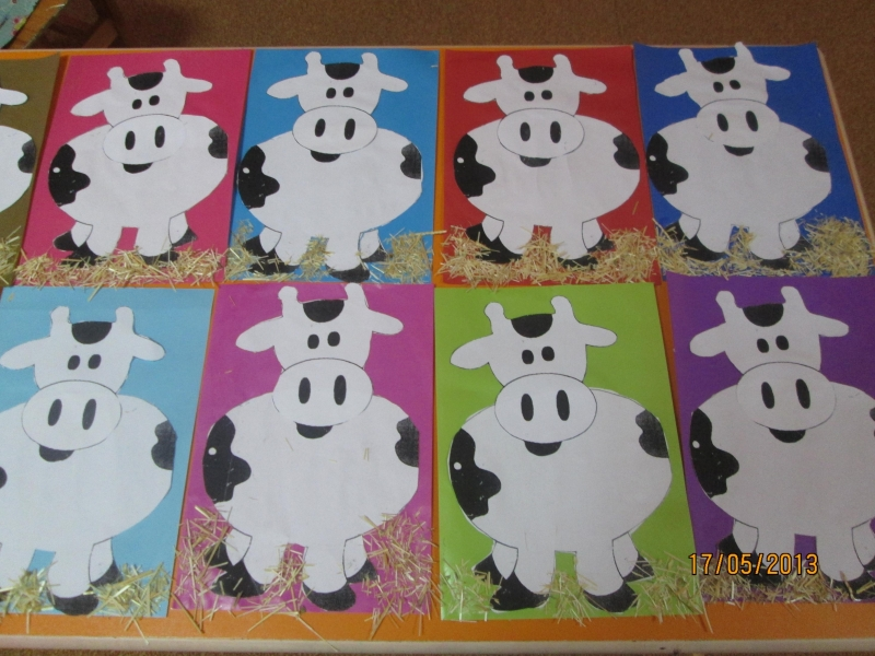 cow craft for kids Crafts and