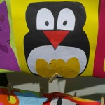 paper craft penguin