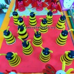 paper cup and ball bee craft
