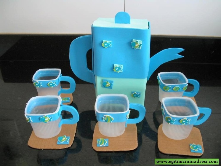 paper cup glass craft