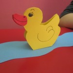 paper duck craft