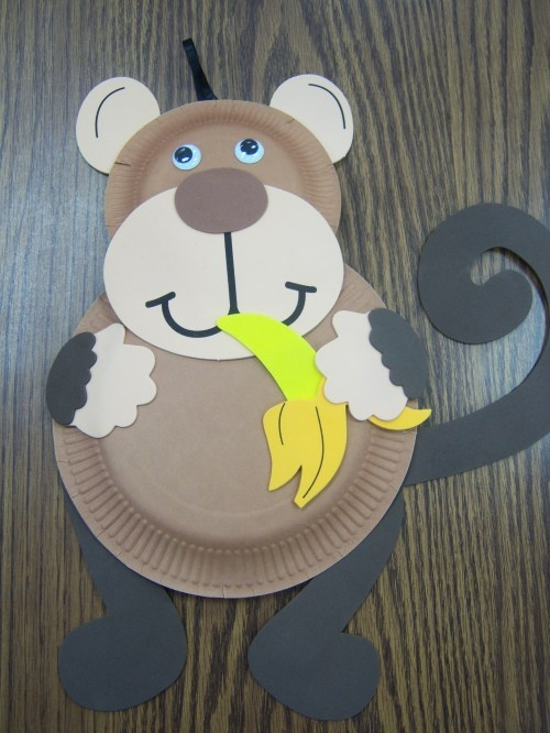 paper_plate_monkey_craft