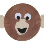 paper_plate_monkey_craft_idea