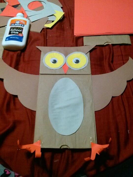 paper bag crafts for kids