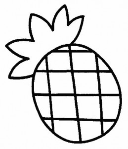 pineapple coloring