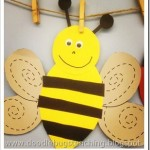 preschool bee craft