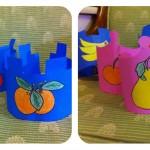 preschool fruit hat