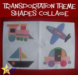Preschool Transportation Crafts Free