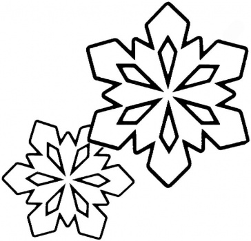 snowflake coloring pages for kindergarten   Crafts,Actvities and Worksheets for Preschool,Toddler and ...