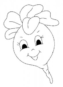 radish_coloring_pages