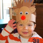 reeindeer headband craft