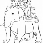 riding-an-elephant_coloring_sheets