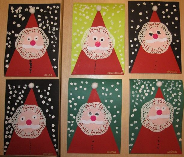 this page has a lot of free santa claus and christmas crafts for kids - Santa Claus Preschool Crafts