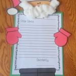santa letter craft