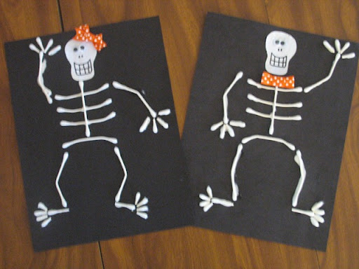 skeleton craft for kids (9)