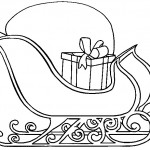 sled-coloring-pages-free