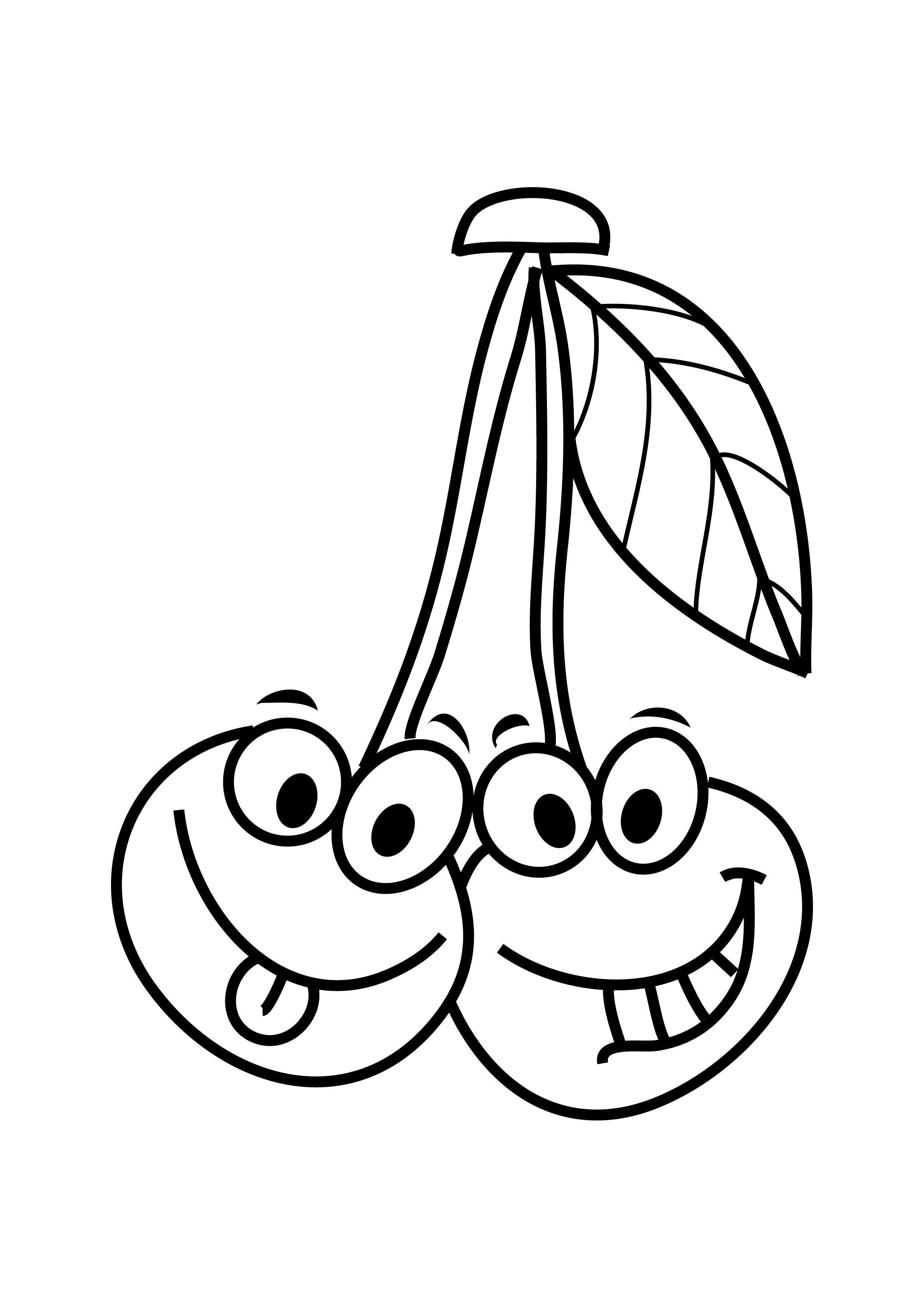 Smart Fruits And Vegetables Coloring Pages Crafts And