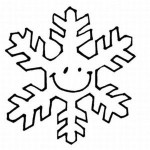 snowflake coloring pages 1