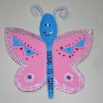spoon butterfly craft