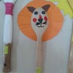 spoon lion craft