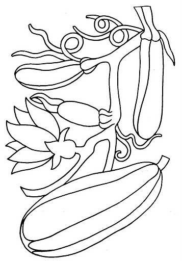 Vegetables coloring pages | Crafts and Worksheets for ...