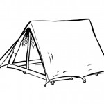tent_coloring_pages